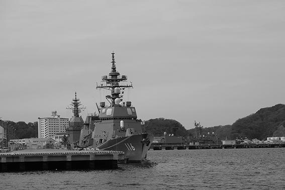 イージス艦DD-116てるづき