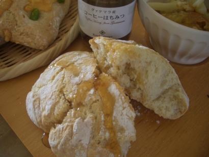 手作りパン(チャパタ)