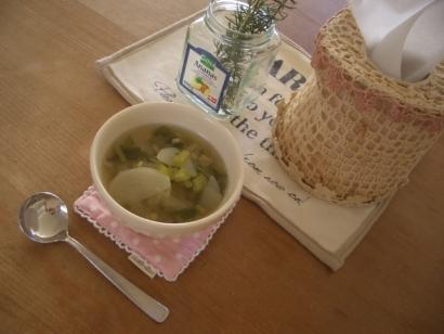 ローズマリーとスープ