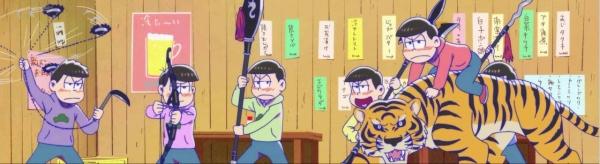 おそ松さん 22話「ファイナルシェー」