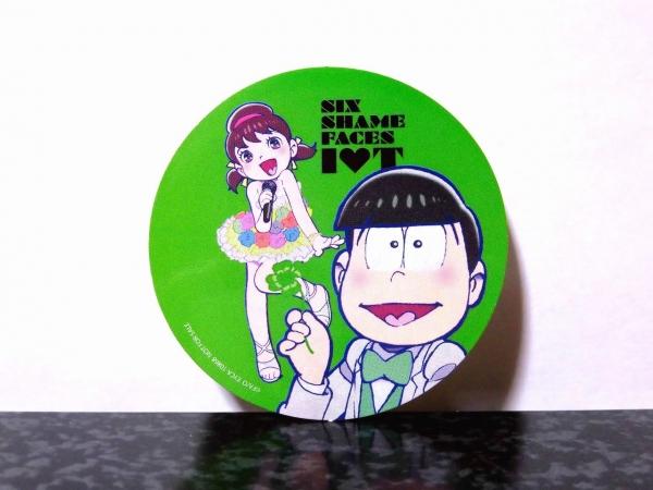 SIX SHAME FACES ~今夜も最高!!!!!!~ [トト子+各松デュエットステッカー]