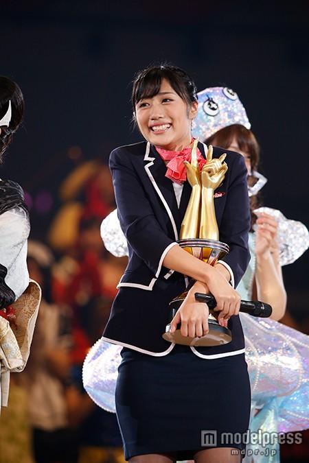 AKBじゃんけん大会優勝、藤田奈那 「ずっとヤラセだと思ってました」