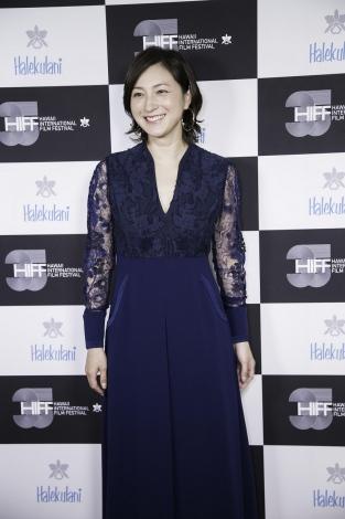広末涼子、ハワイ映画祭で日本人女優として初の快挙 キャリア功労賞受賞