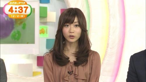 めざましテレビアクアの牧野結美アナ(25)が今日も色っぽすぎる件