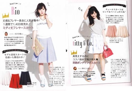 鈴木愛理さんのモデル姿をご覧ください