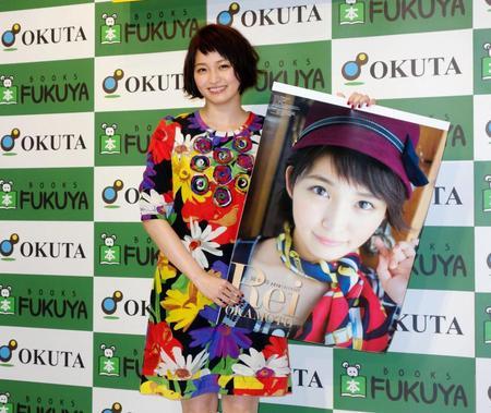 岡本玲 カレンダーで2年ぶりにビキニ「初々しい感じに」