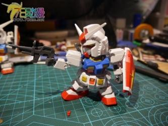 SDガンダム エクスタンダード RX-78-2 ガンダム009