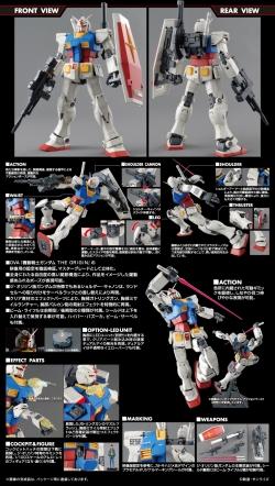 MG RX-78-02 ガンダム(GUNDAM THE ORIGIN版)の商品説明画像