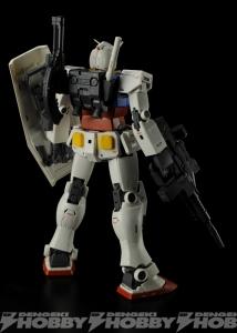 MG RX-78-02 ガンダム(GUNDAM THE ORIGIN版)のテストショット2