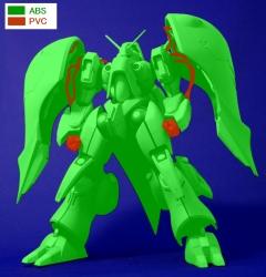 機動戦士ガンダム ASSAULT KINGDOM クィン・マンサの彩色試作写真9