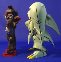 機動戦士ガンダム ASSAULT KINGDOM クィン・マンサの彩色試作写真8