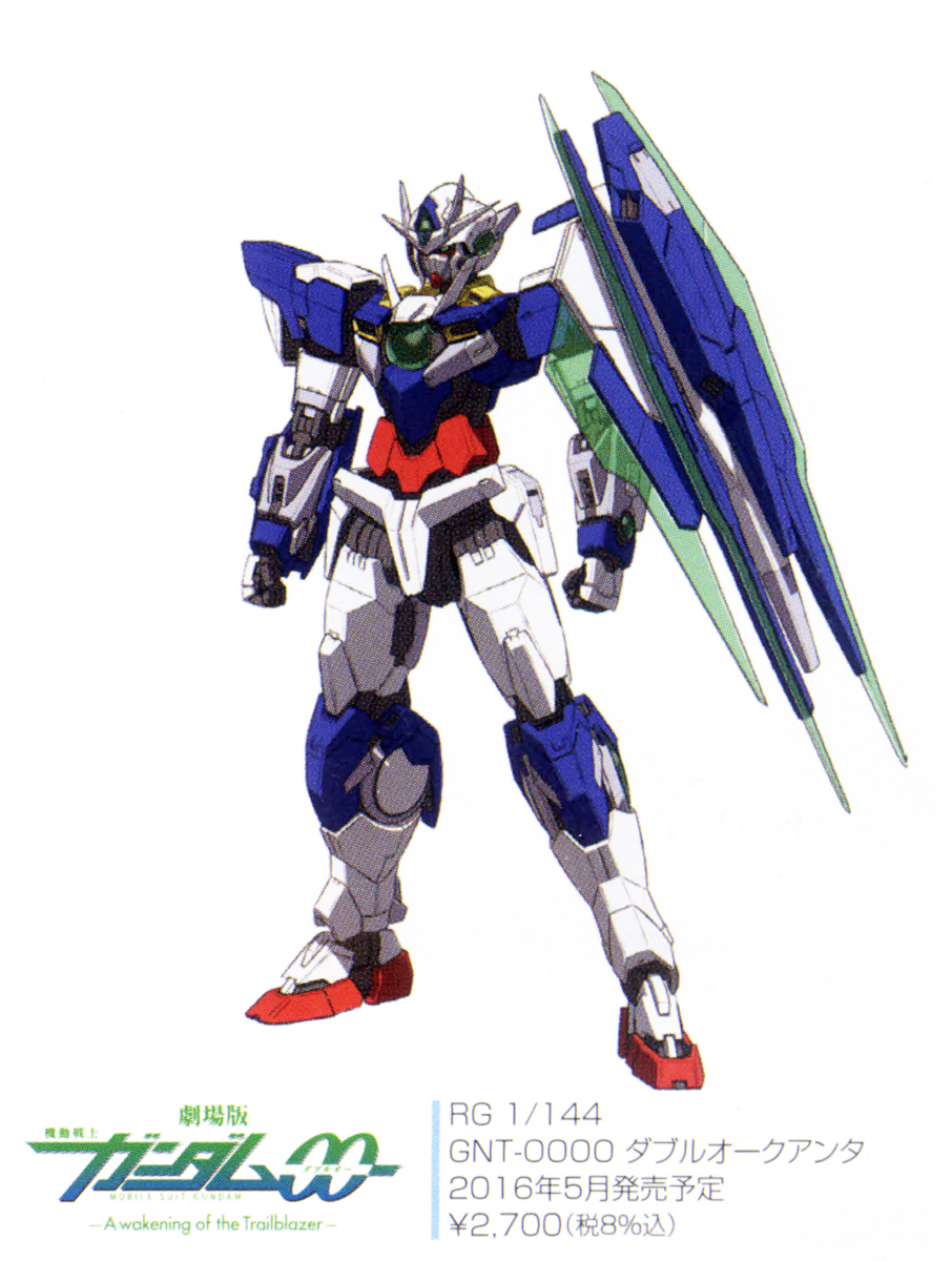 +Re:กันพลาเดือน 5/2016 RG 00 Quan[T], BB legend Superior Dragon