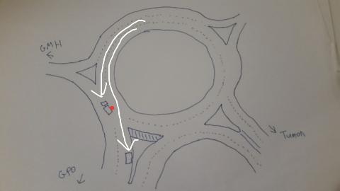 事故現場図