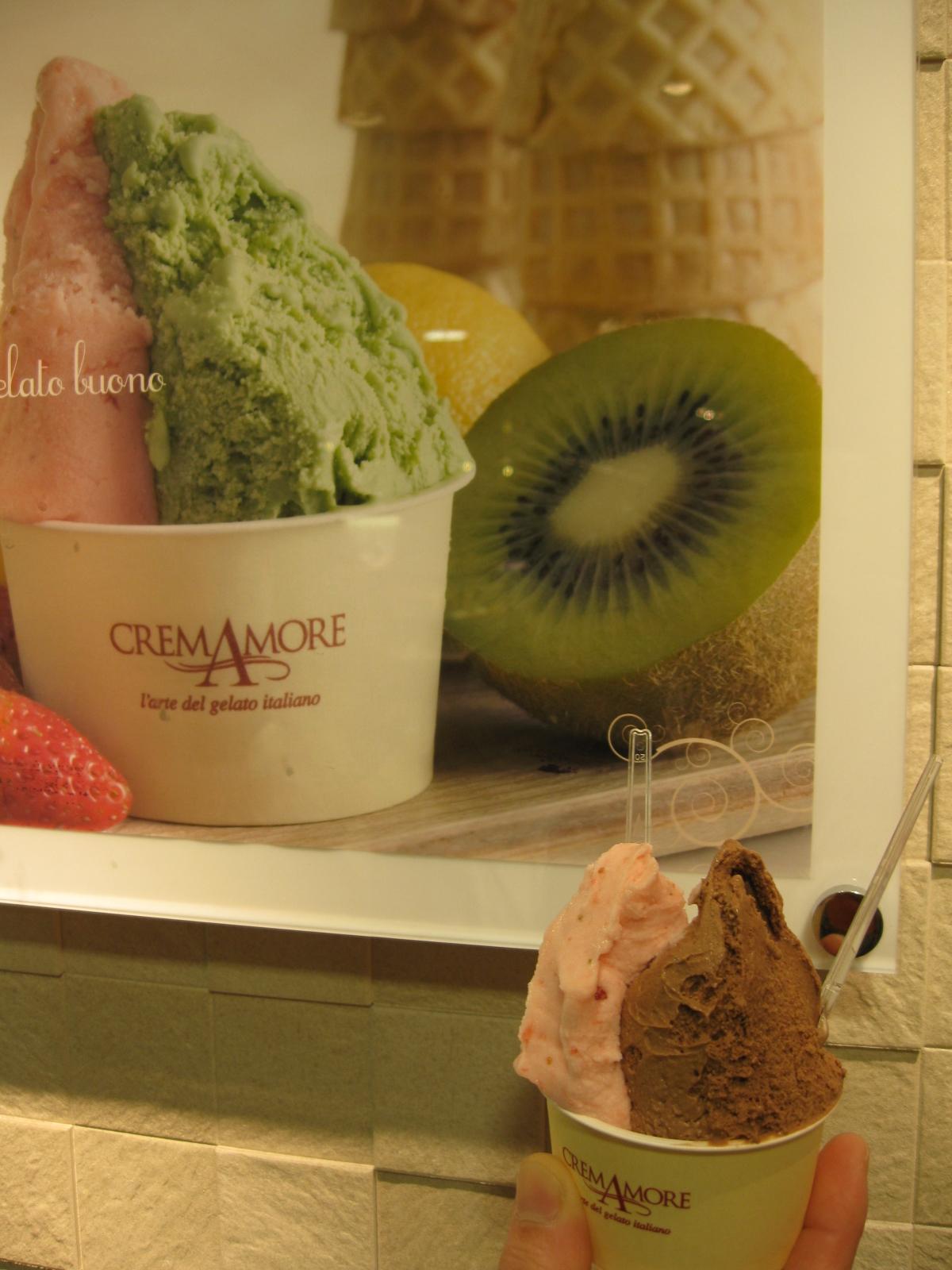 CreamAmore(クレマモーレ) 西武渋谷店 アイスクリーム 絶品