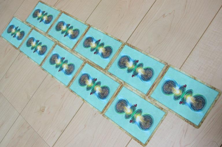 2列 フィールド 場 カードゲーム MTG