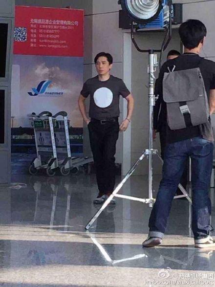 トニーさん@無錫苏南机場