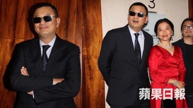 王家衛夫妻@澤東25周年記念パーティ