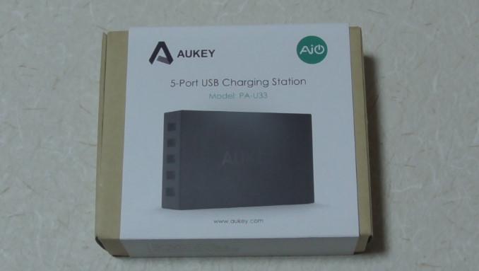 AukeyのマイクロUSBケーブルと5ポート内蔵充電器のレビュー-14 14-50-08-529