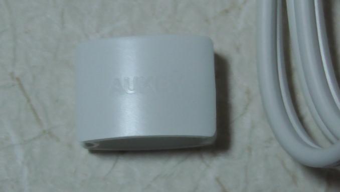 AukeyのマイクロUSBケーブルと5ポート内蔵充電器のレビュー4-50-20-054