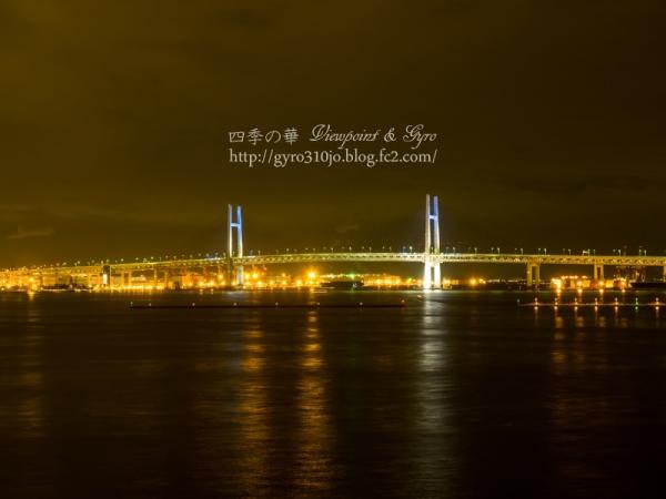 横浜港大桟橋からの夜景 B
