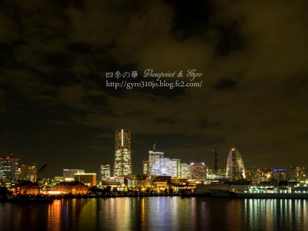 横浜港大桟橋からの夜景 N