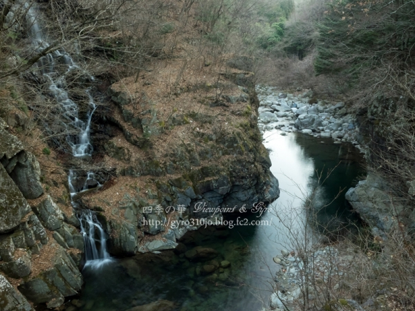 釜沢の滝 E