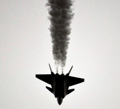 J-20 J-20 黒煙