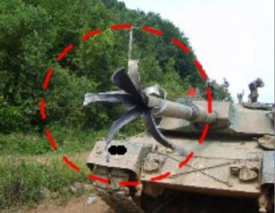 K1戦車 K1戦車砲 破裂