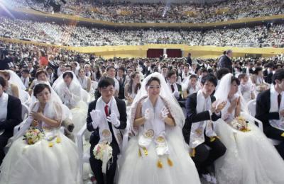 統一教会 合同結婚式