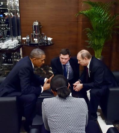 G20 オバマ プーチン 会談
