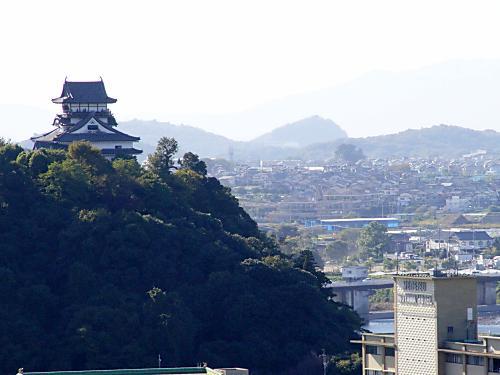成田山から見た犬山城