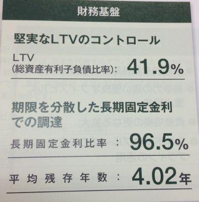 日本ビルファンド 堅実な財務戦略