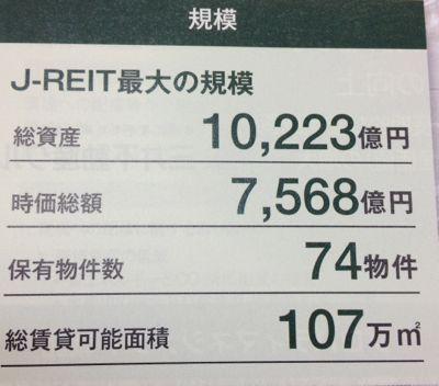 日本ビルファンド ついに資産は1兆円へ