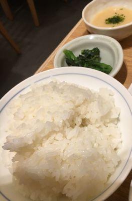 ご飯と小鉢