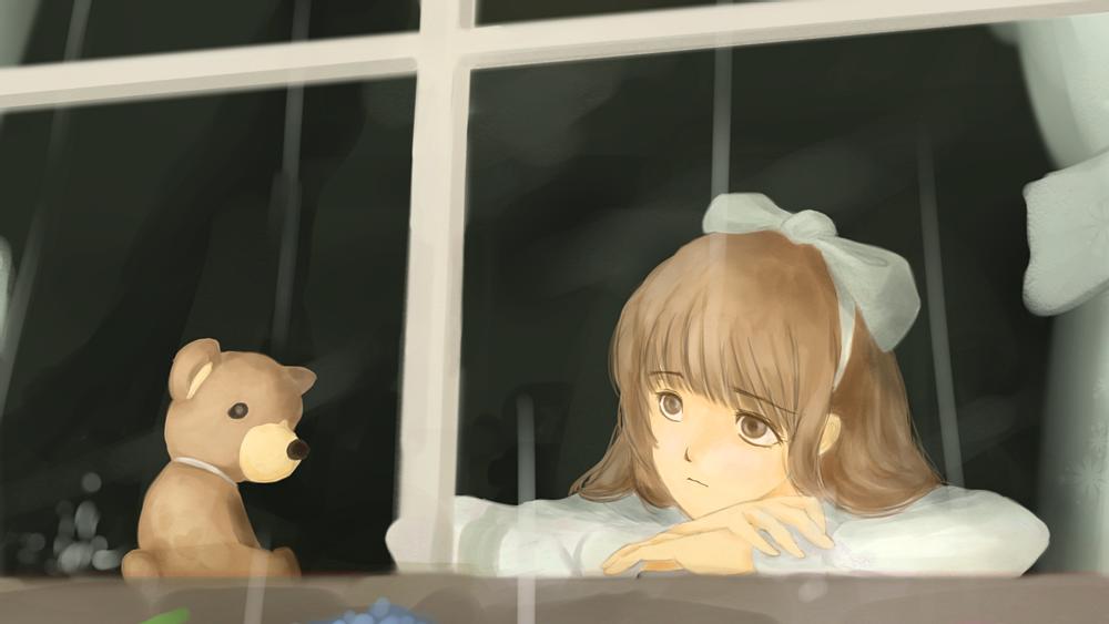 雨ふり(一部)