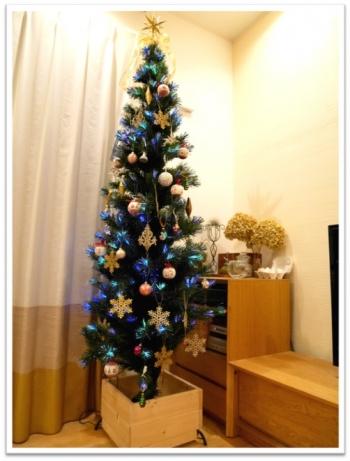 スリム型クリスマスツリー