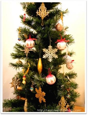 クリスマスツリーとオーナメント3
