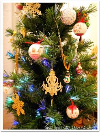 クリスマスツリーとオーナメント2