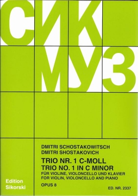 Shostakovich TrioBlog
