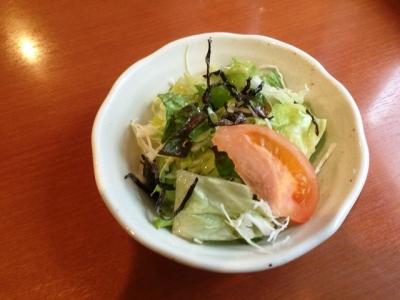 160206洋食鉄板焼 OPEN SESAME!ランチサラダ