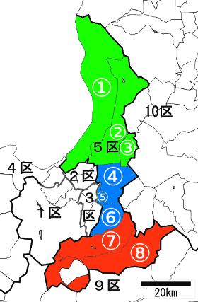 北海道5区の地盤につい2