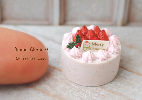 クリスマスケーキいちごサイズ