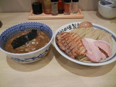 心の味製麺・特製濃厚豚骨魚介つけ麺@1,000円