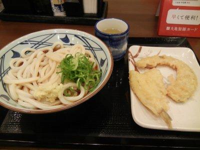 ぶっかけと天ぷら