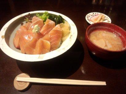 生マカジキの漬け丼@1,500