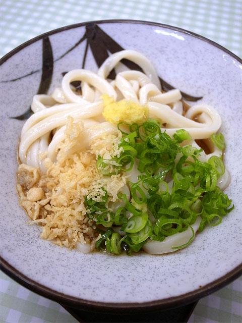 150218大川製麺所-冷やしぶっかけうどん小