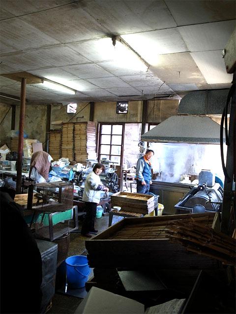 150219大川製麺所-厨房