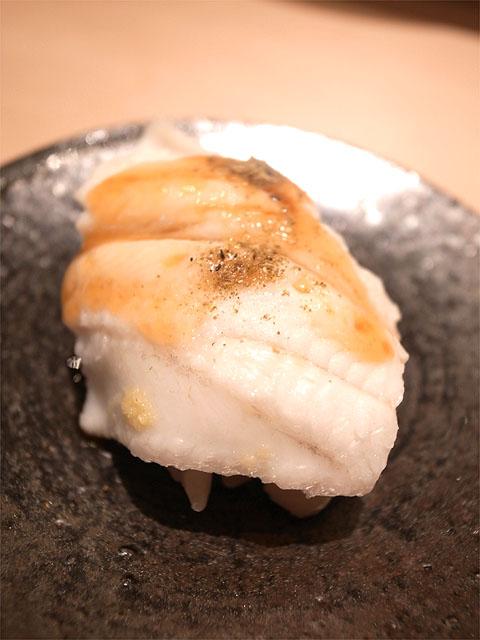 150726ひさ田-蒸し穴子 山椒とツメ