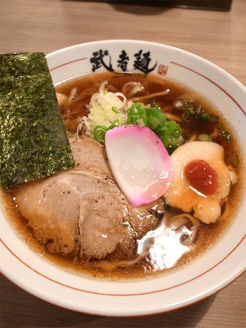 150726武者麺 新大阪店-中華そばあっさり