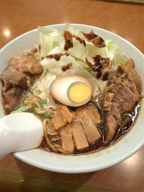150906桂花ラーメン 本店-太肉麺